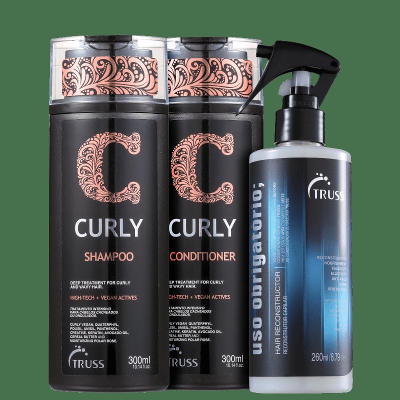 Kit Truss Curly Obrigatório (3 Produtos)