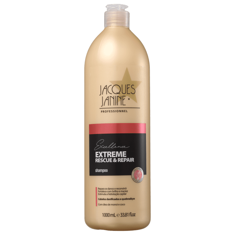 Jacques Janine Professionnel Excellence Extreme Rescue & Repair - Shampoo 1000ml