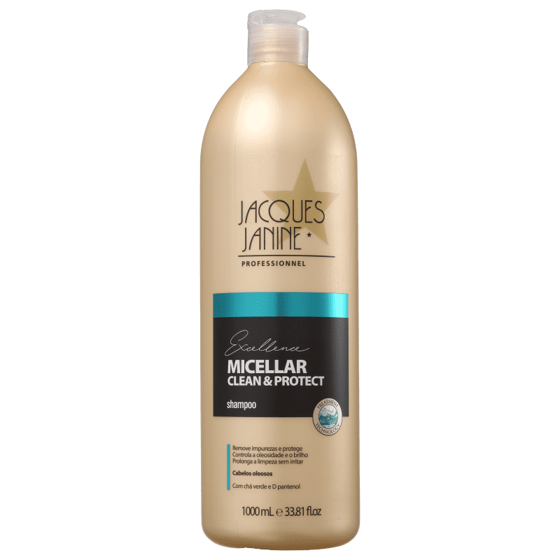 Jacques Janine Professionnel Excellence Micellar Clean & Protect - Shampoo 1000ml