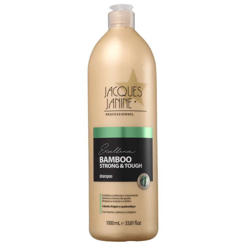 Jacques Janine Professionnel Excellence Bamboo Strong & Tough - Shampoo 1000ml