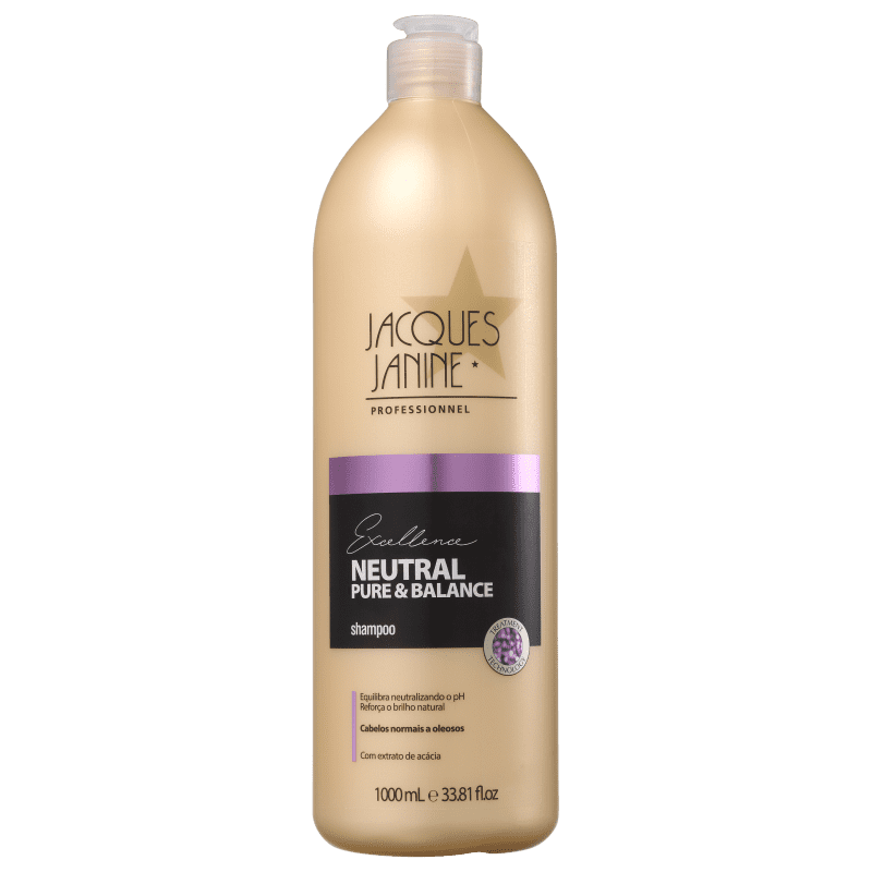 Jacques Janine Professionnel Excellence Neutral Pure & Balance - Shampoo 1000ml