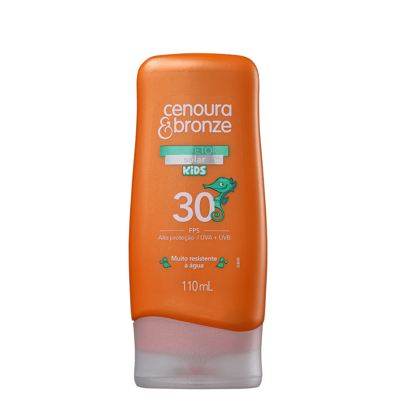 Cenoura & Bronze Kids FPS 30 - Protetor Solar 110ml
