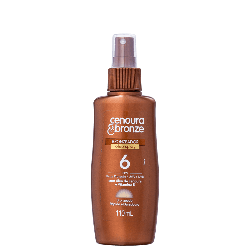Cenoura & Bronze FPS 6 - Spray Bronzeador 110ml