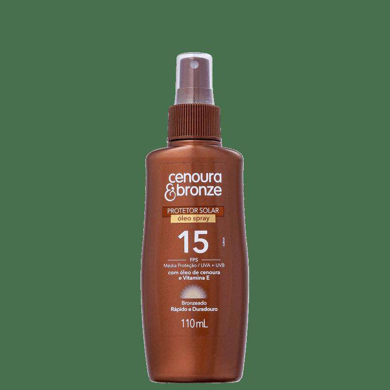 Cenoura & Bronze FPS 15 - Spray Bronzeador 110ml