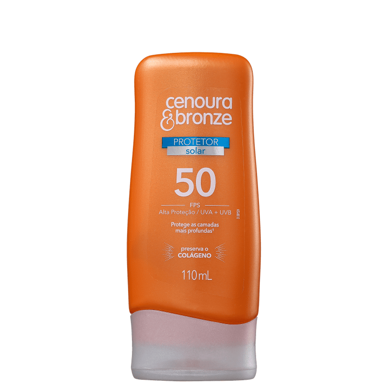 Cenoura & Bronze FPS 50 - Protetor Solar 110ml
