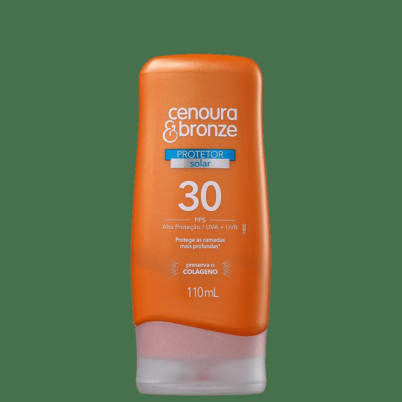 Cenoura & Bronze FPS 30 - Protetor Solar 110ml