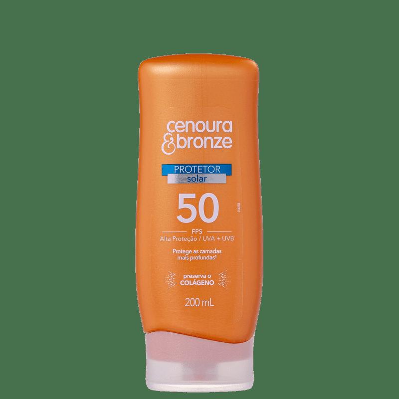 Cenoura & Bronze FPS 50 - Protetor Solar 200ml