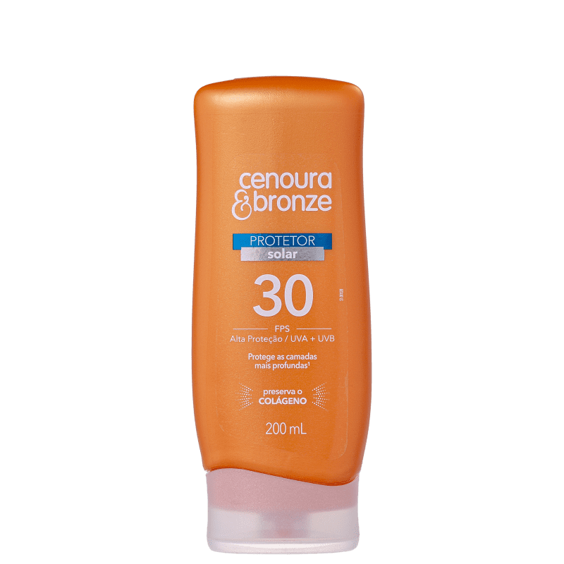 Cenoura & Bronze FPS 30 - Protetor Solar 200ml