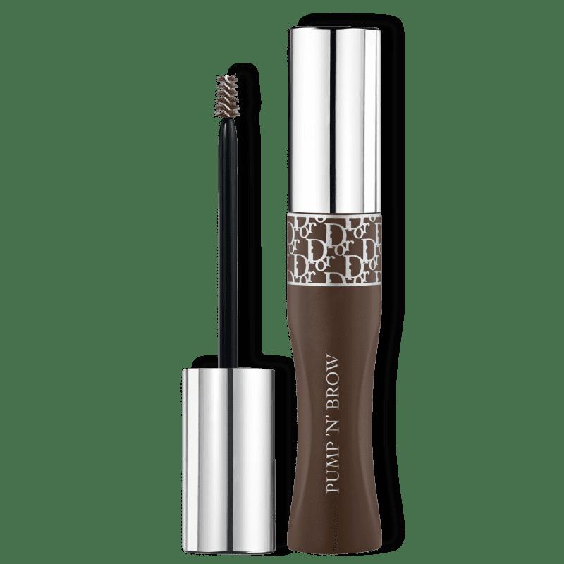 Dior Diorshow Pump 'N' Brow 002 Dark Brown - Máscara para Sobrancelha 5ml