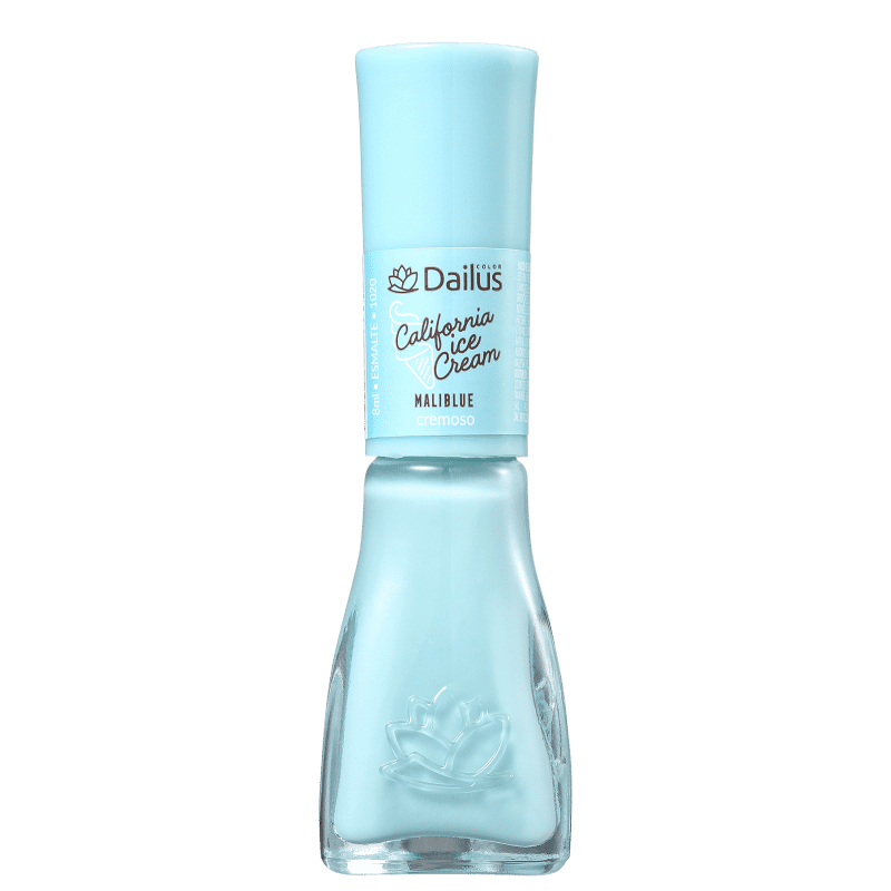 Dailus Califórnia Ice Cream 1020 Maliblue - Esmalte Cremoso 8ml