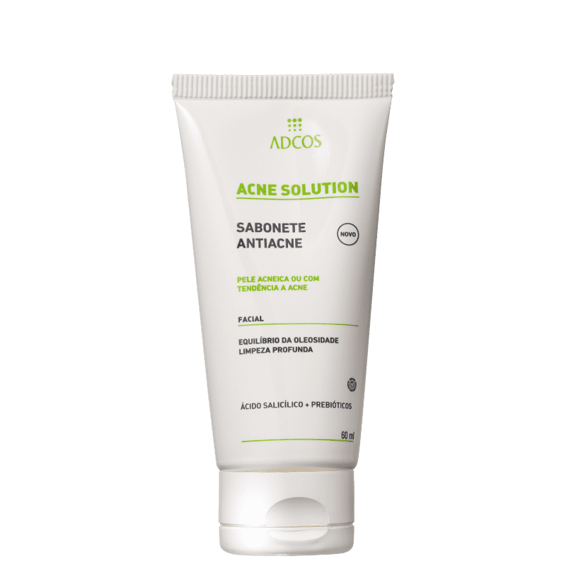 Adcos Acne Solution - Sabonete Líquido para Acne 60ml