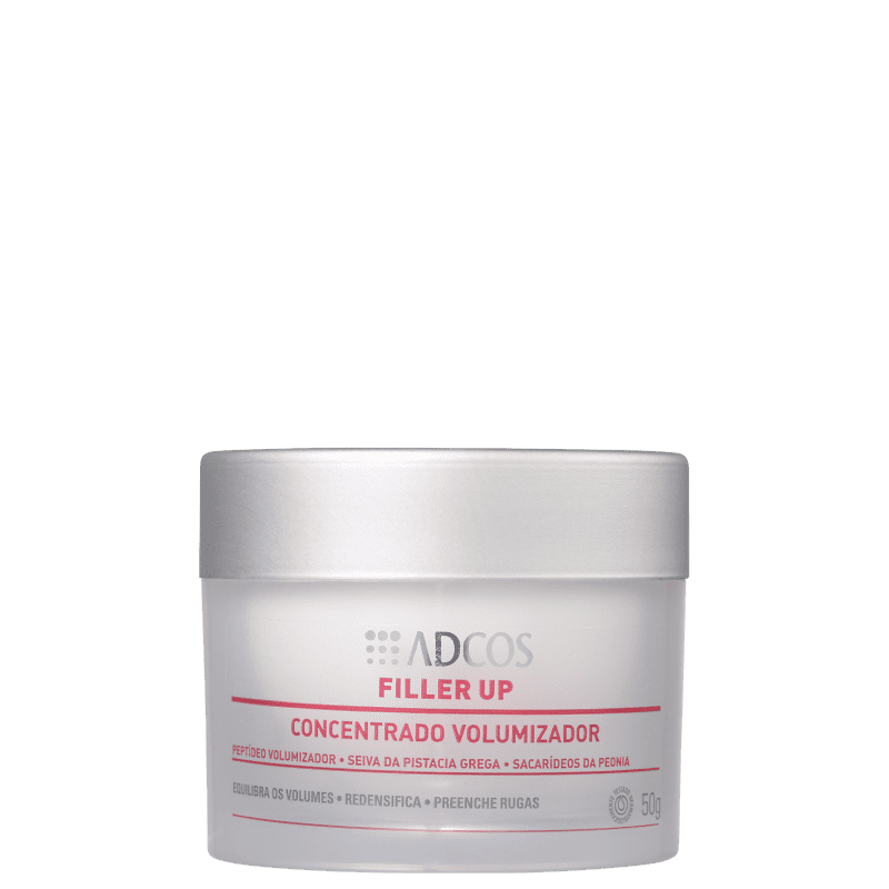 Adcos Filler Up Concentrado Volumizador - Creme Anti-Idade 50g