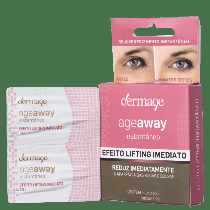 Dermage Age Away Instantâneo - Gel Anti-Idade 4x0,3g