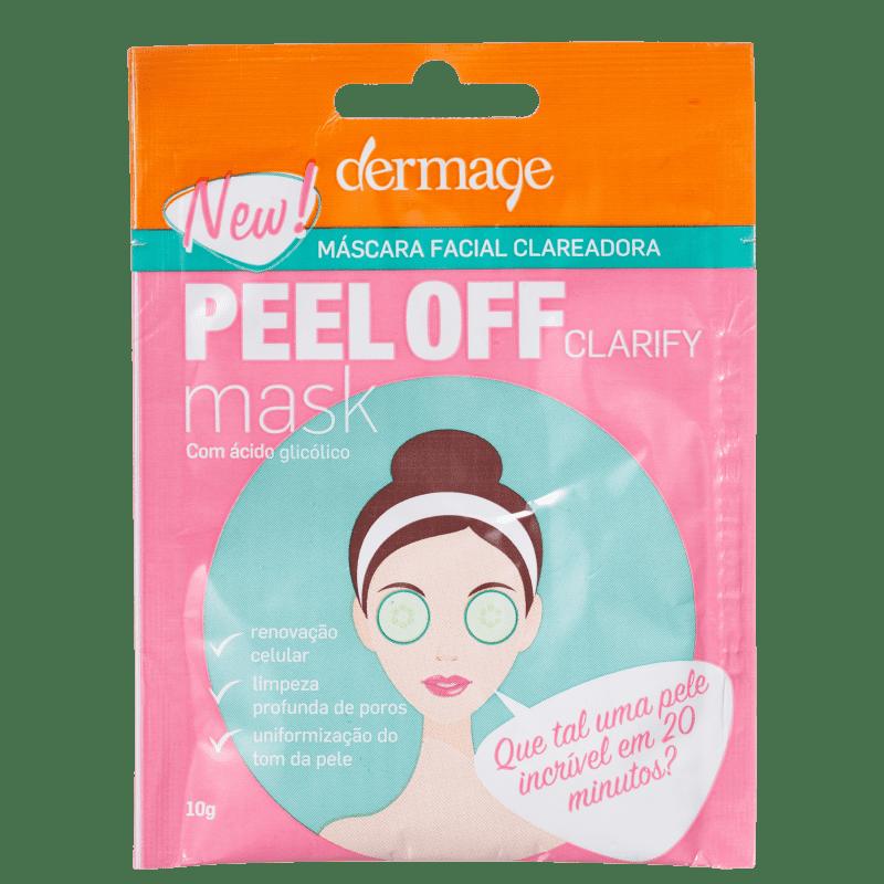 Dermage Peel Off Clarify - Máscara Facial 10g