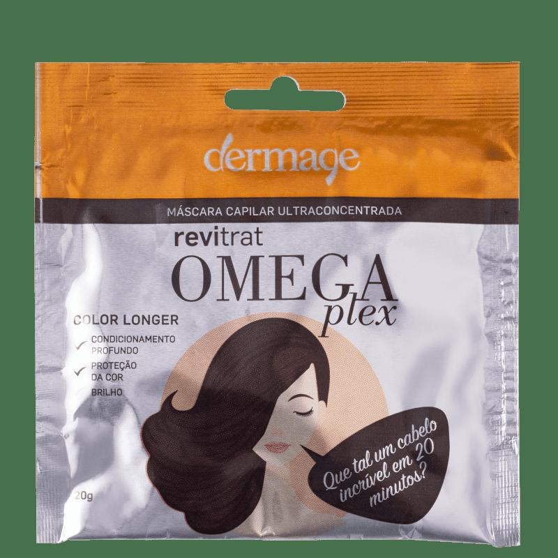 Dermage Revitrat Omegaplex - Máscara Capilar 20g