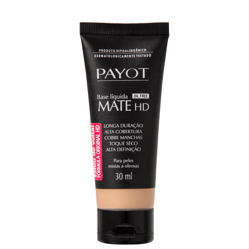 Payot Mate HD Médio 2 - Base Líquida 30ml