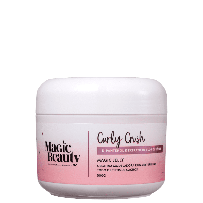 Magic Beauty Curly Crush Magic Jelly - Gelatina Ativadora de Cachos 500g