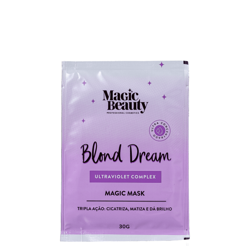 Magic Beauty Blond Dream - Máscara Capilar Sachê 30g
