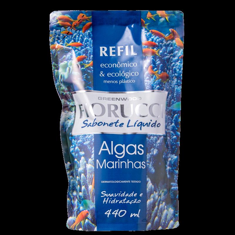 Fiorucci Algas Marinhas Refil - Sabonete Líquido 440ml