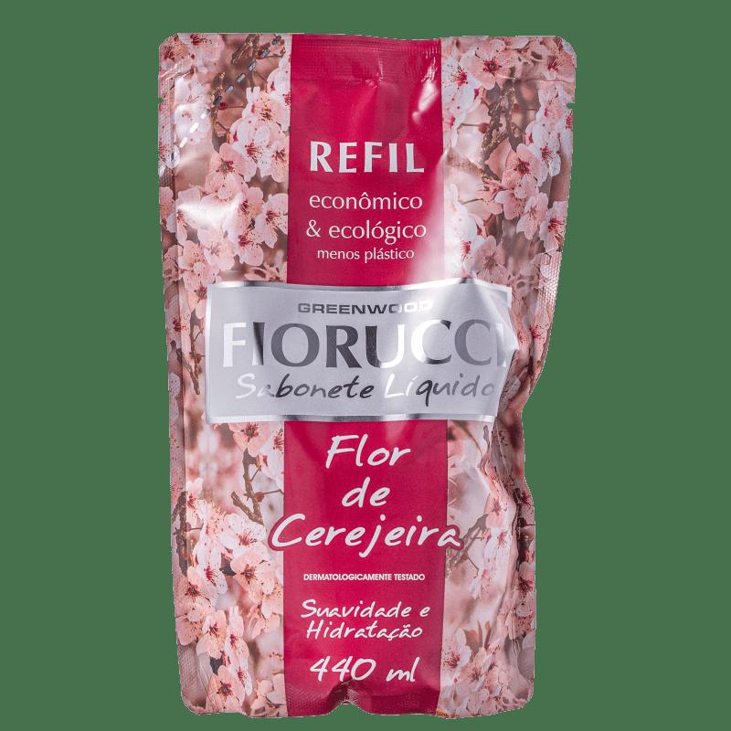 Fiorucci Flor de Cerejeira Refil - Sabonete Líquido 440ml