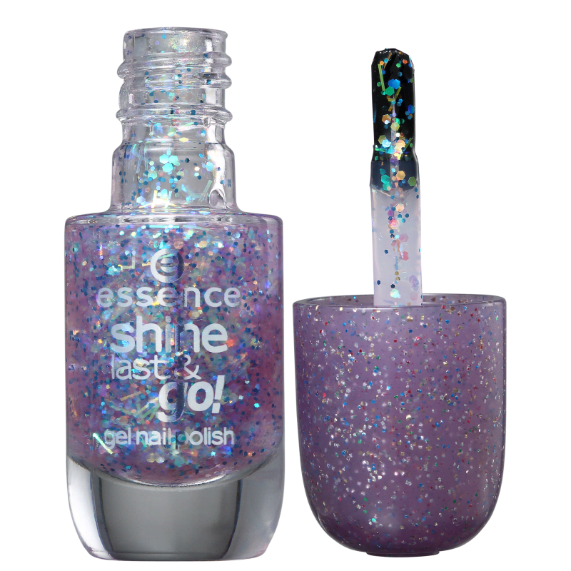 Essence Shine, Last & Go 23 Party Time - Esmalte Glitter 8ml