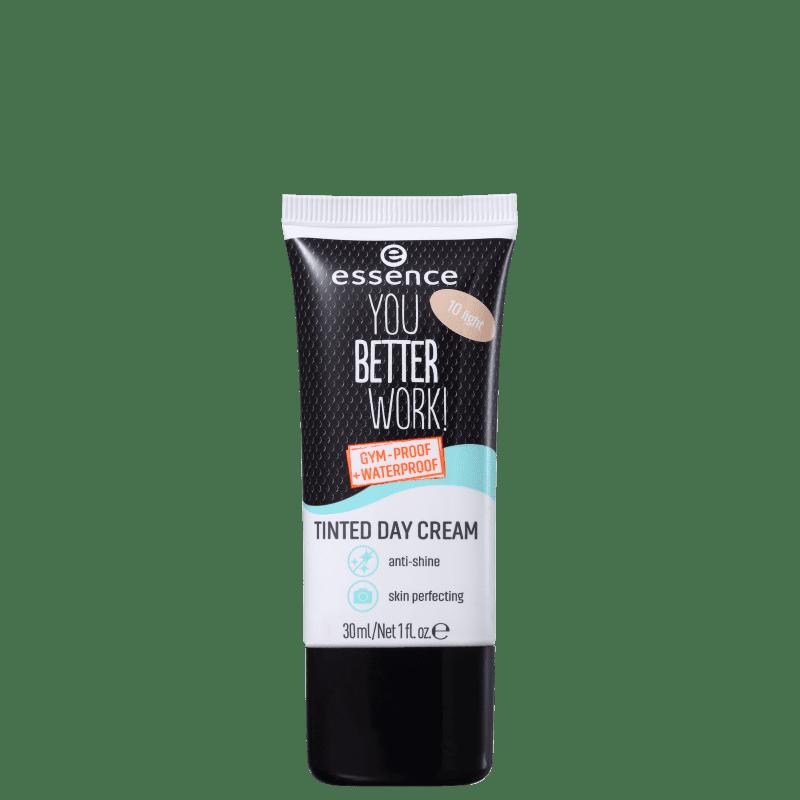 Essence You Better Work 10 Light - Creme Hidratante com Cor 30ml