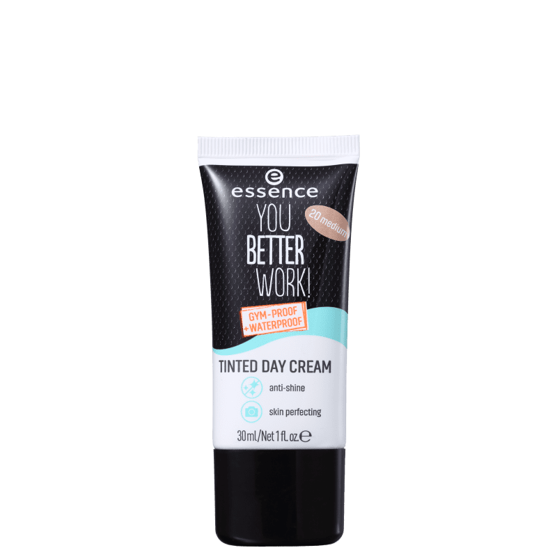 Essence You Better Work 20 Medium - Creme Hidratante com Cor 30ml