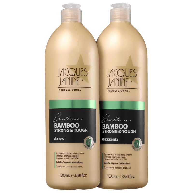 Kit Jacques Janine Professionnel Excellence Bamboo Strong & Tough Duo (2 Produtos)