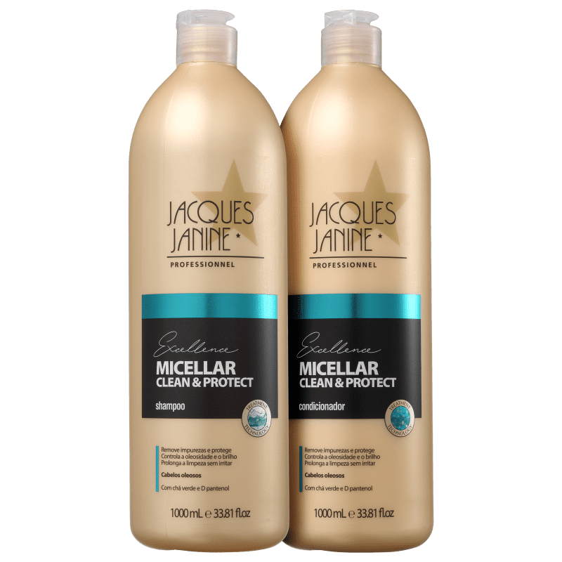 Kit Jacques Janine Professionnel Excellence Micellar Clean & Protect Duo (2 Produtos)