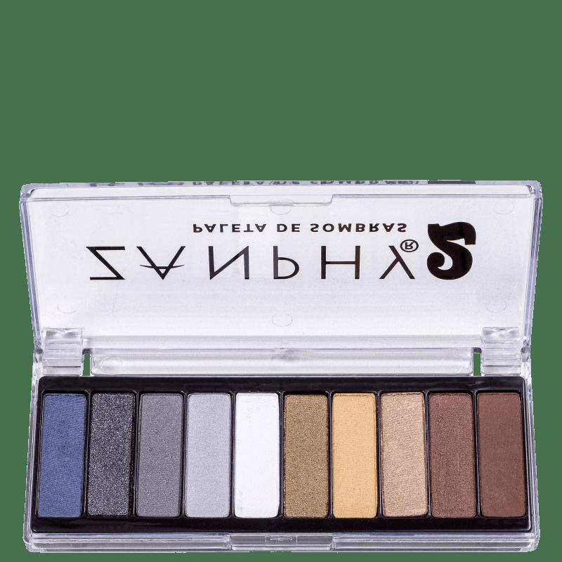 Zanphy 10 Cores 2 - Paleta de Sombras 20g