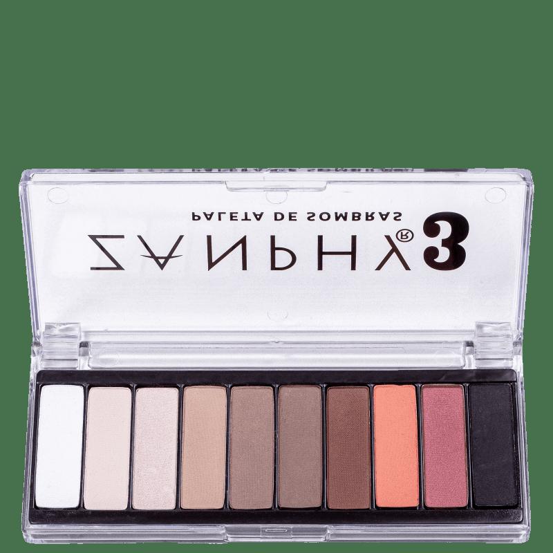 Zanphy 10 Cores 3 - Paleta de Sombras 20g