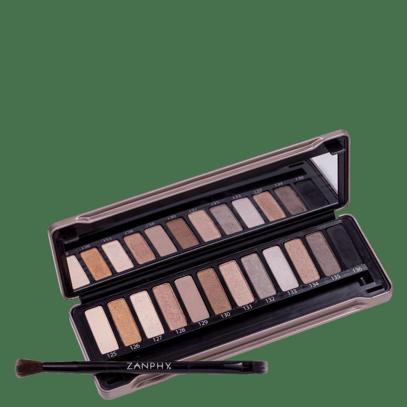Zanphy Metallic Pack Nude - Paleta de Sombras 24g
