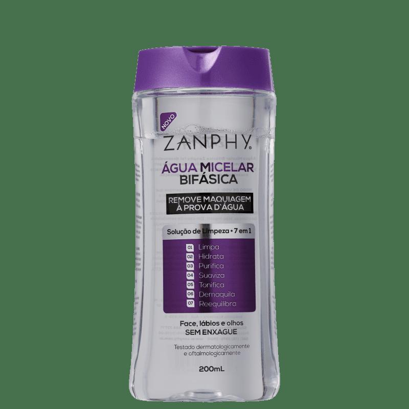 Zanphy Micelar - Água Demaquilante Bifásica 200ml
