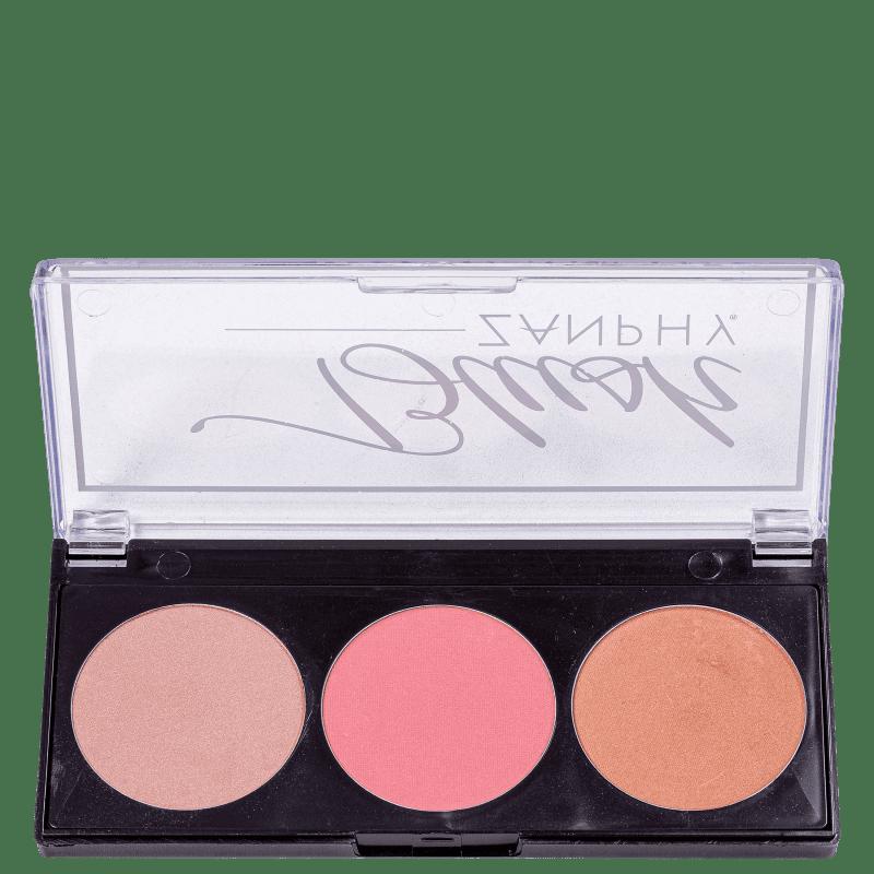 Zanphy 3 Cores - Paleta de Blush 5g