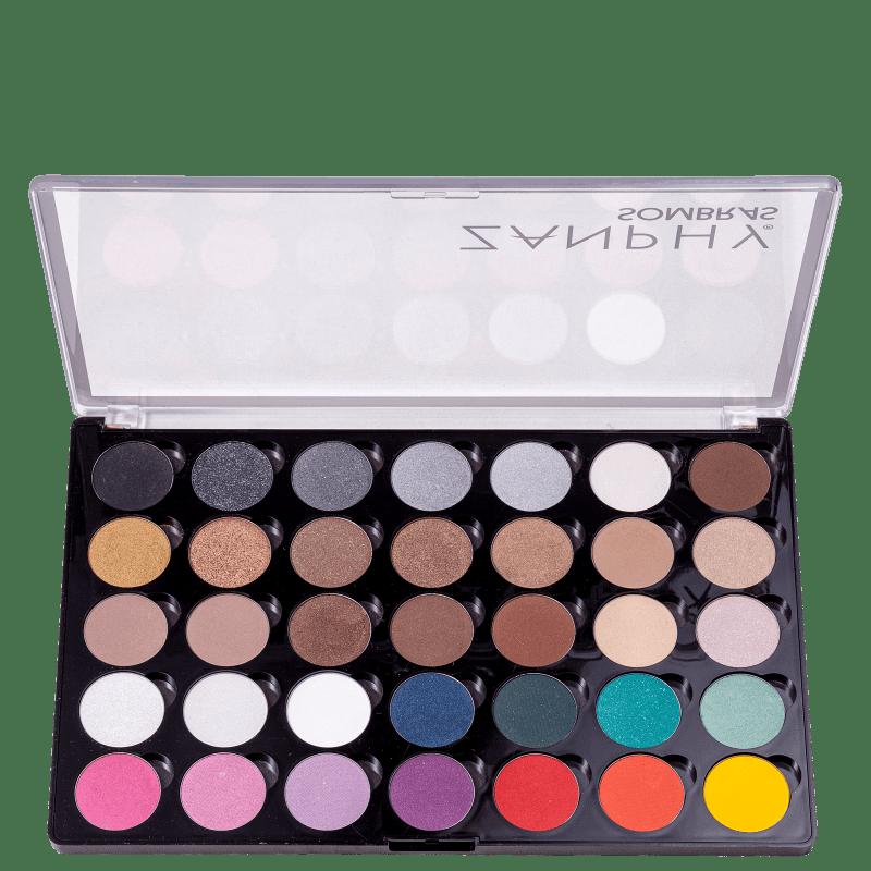 Zanphy 35 Cores - Paleta de Sombras 30g