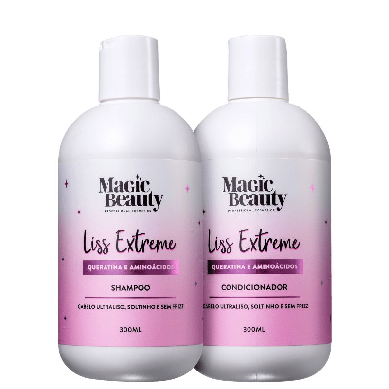 Kit Magic Beauty Liss Extreme Duo (2 Produtos)