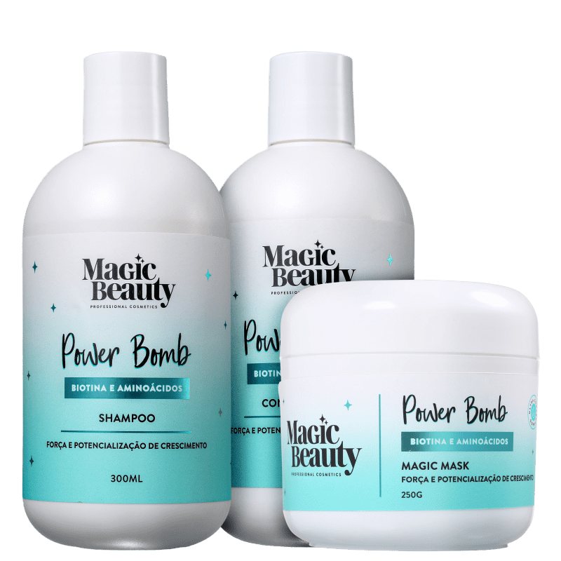 Kit Magic Beauty Power Bomb (3 Produtos)