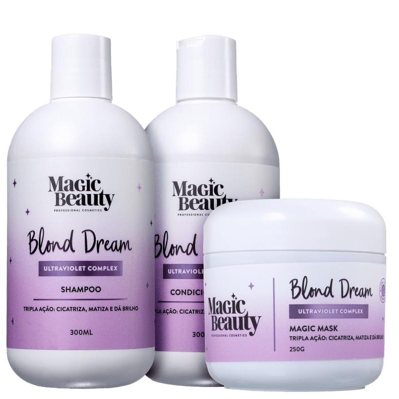 Kit Magic Beauty Blond Dream (3 Produtos)