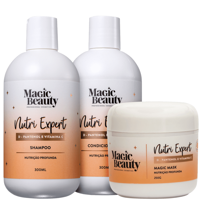 Kit Magic Beauty Nutri Expert (3 Produtos)