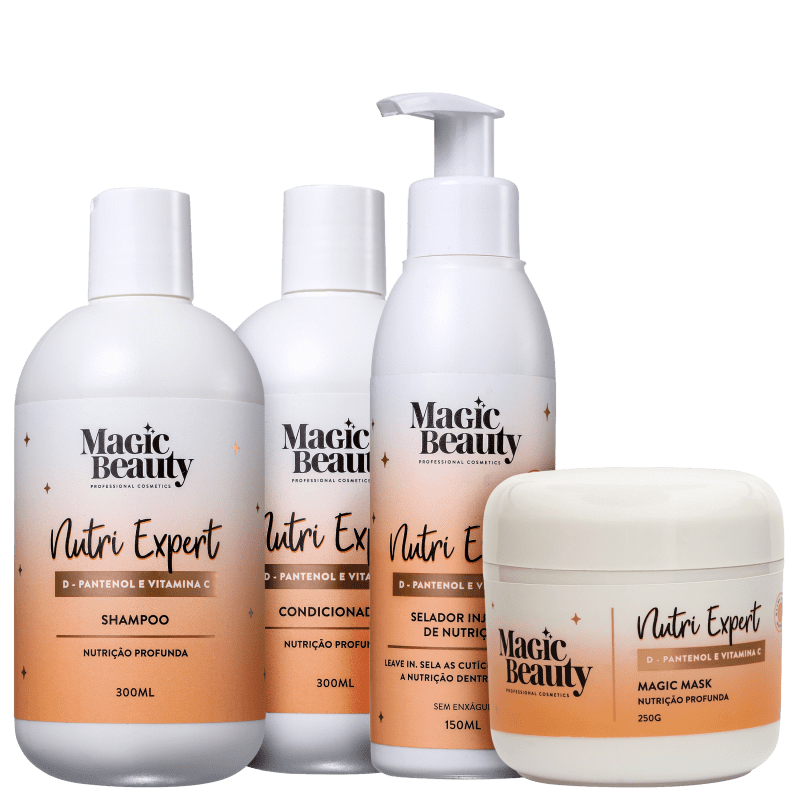 Kit Magic Beauty Nutri Expert Completo (4 Produtos)