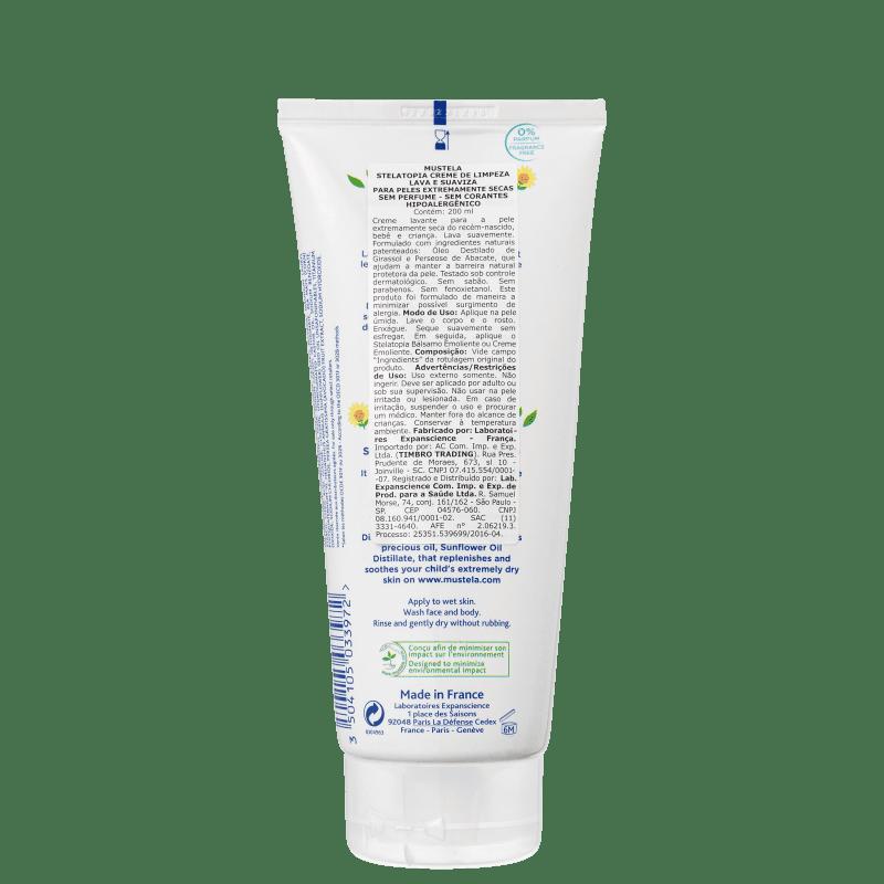 mustela stelatopia crema emolliente ingredienti