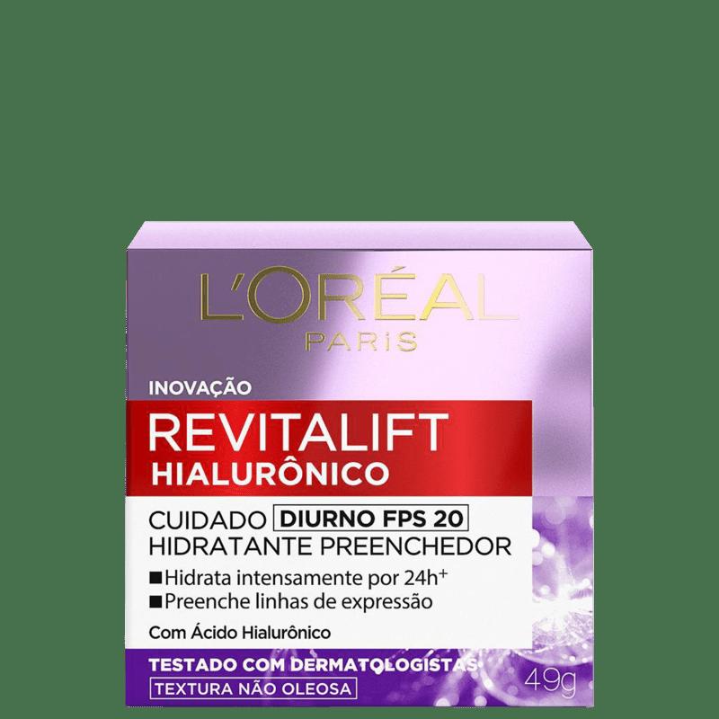 L'Oréal Paris Revitalift Hialurônico FPS 20 Tratamento Diurno - Creme Anti-Idade 50ml