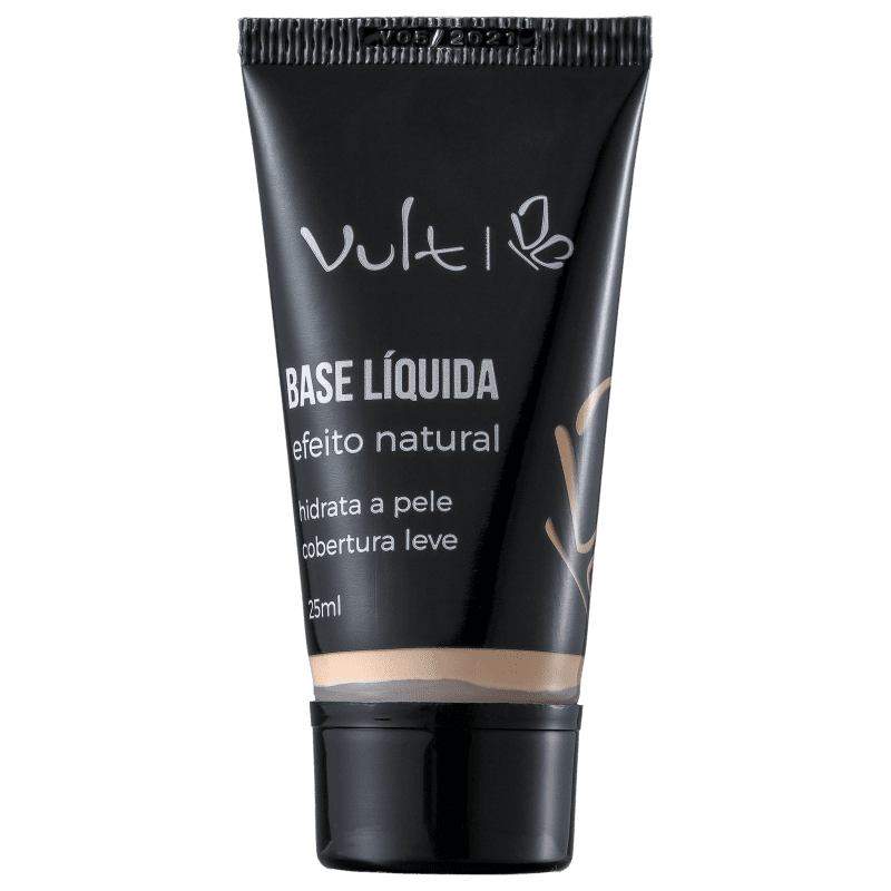 Base Líquida Vult Efeito Natural 01 25ml