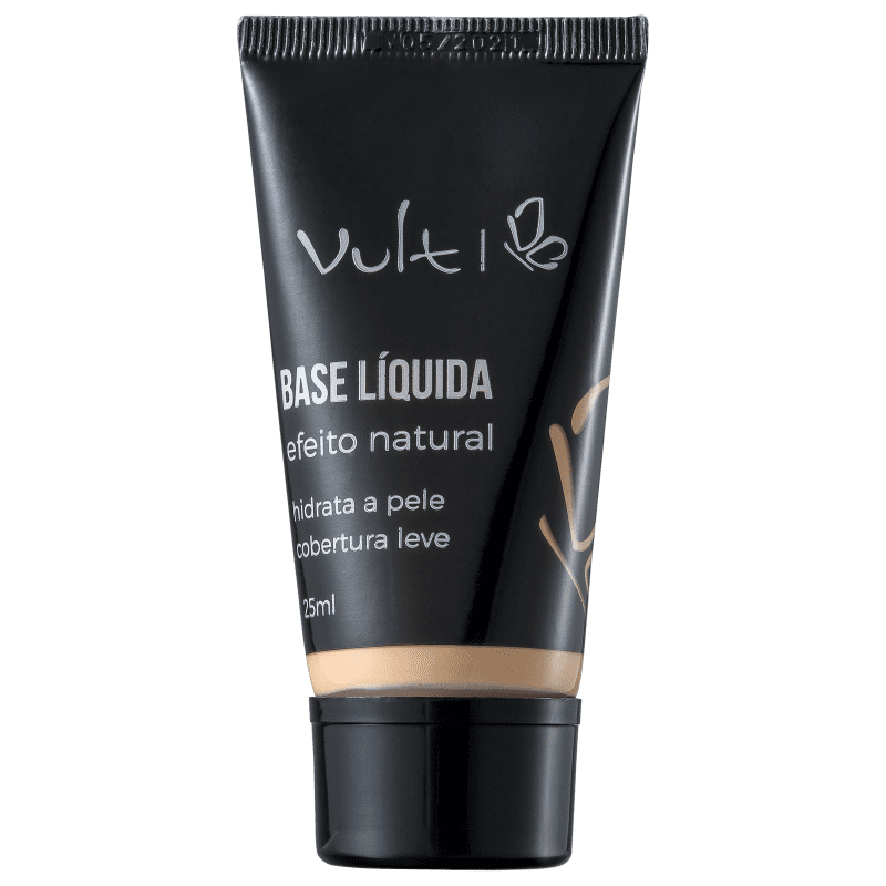 Vult Efeito Natural 02 - Base Líquida 25ml