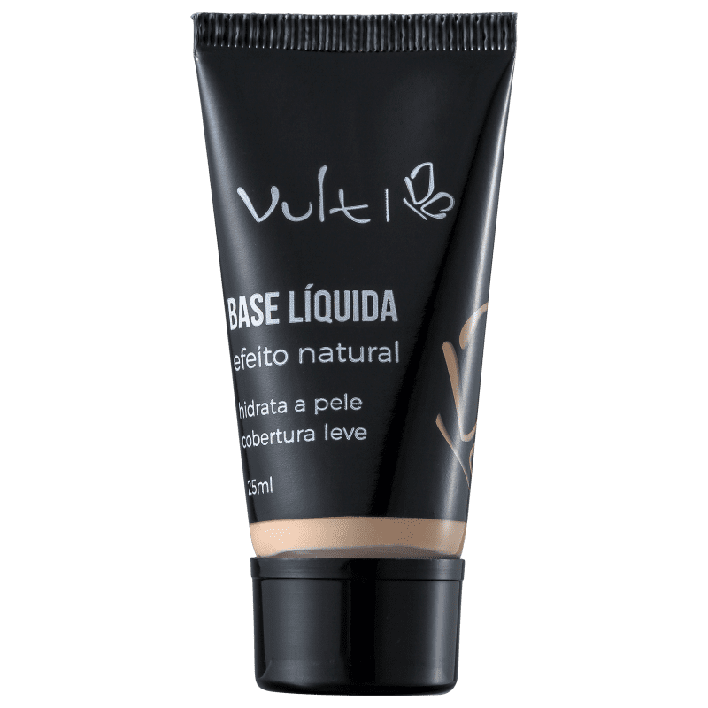 Base Líquida Vult Efeito Natural 25ml