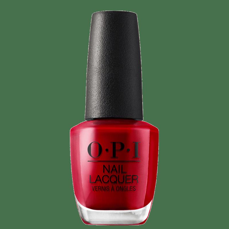 OPI Red Hot Rio - Esmalte Cremoso 15ml