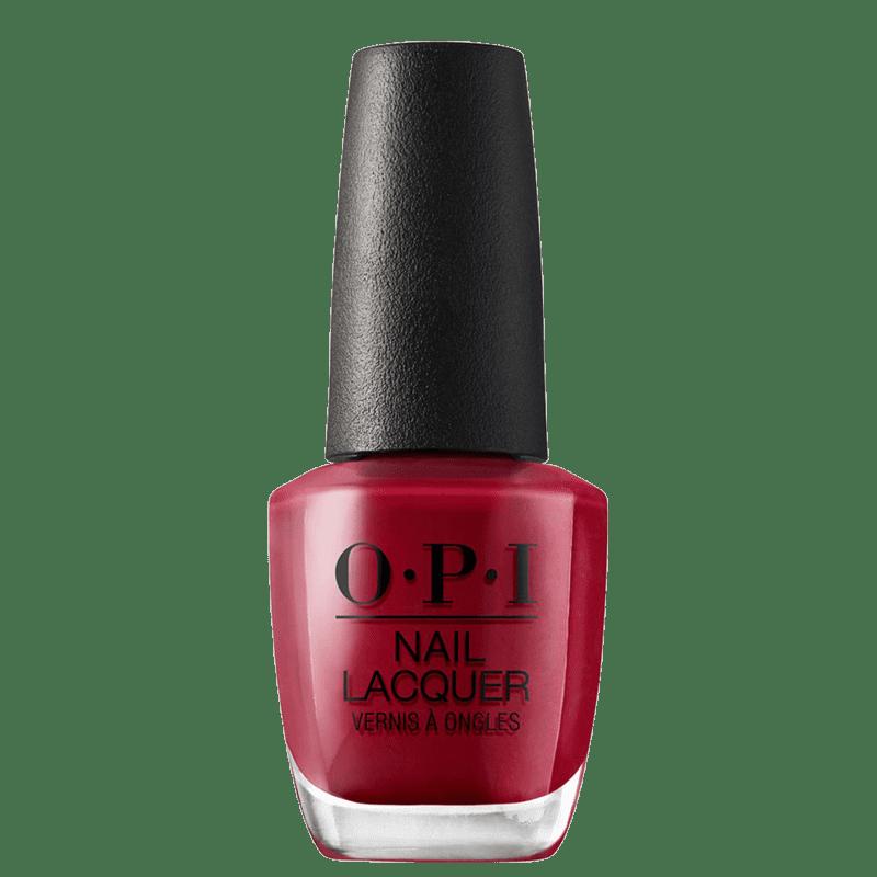 OPI Chick Flick Cherry - Esmalte Cremoso 15ml