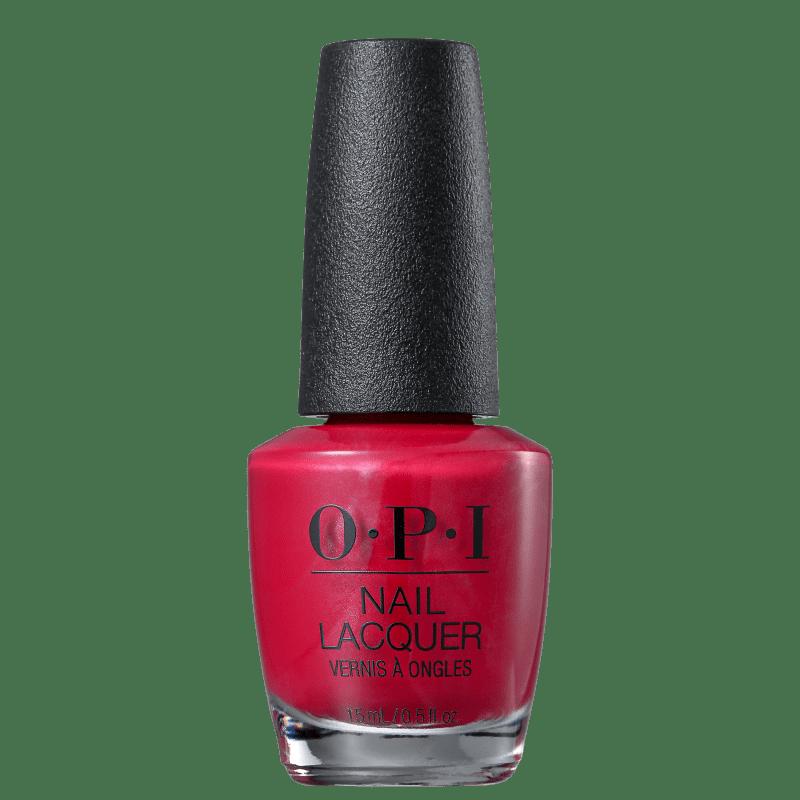 OPI Red - Esmalte Cremoso 15ml