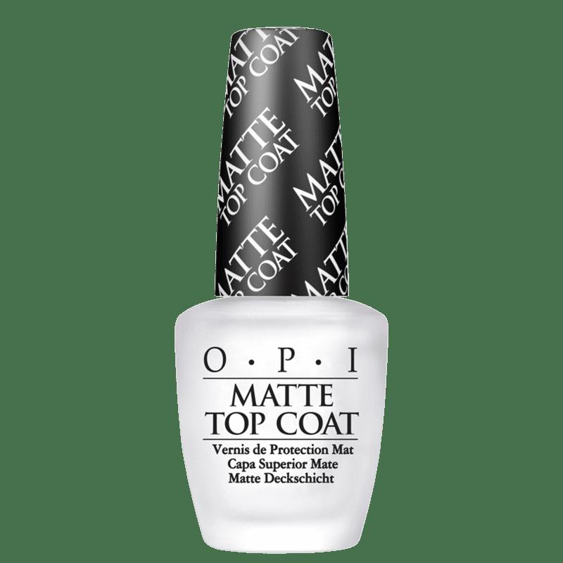OPI Matte - Finalizador de Cobertura Matte 15ml