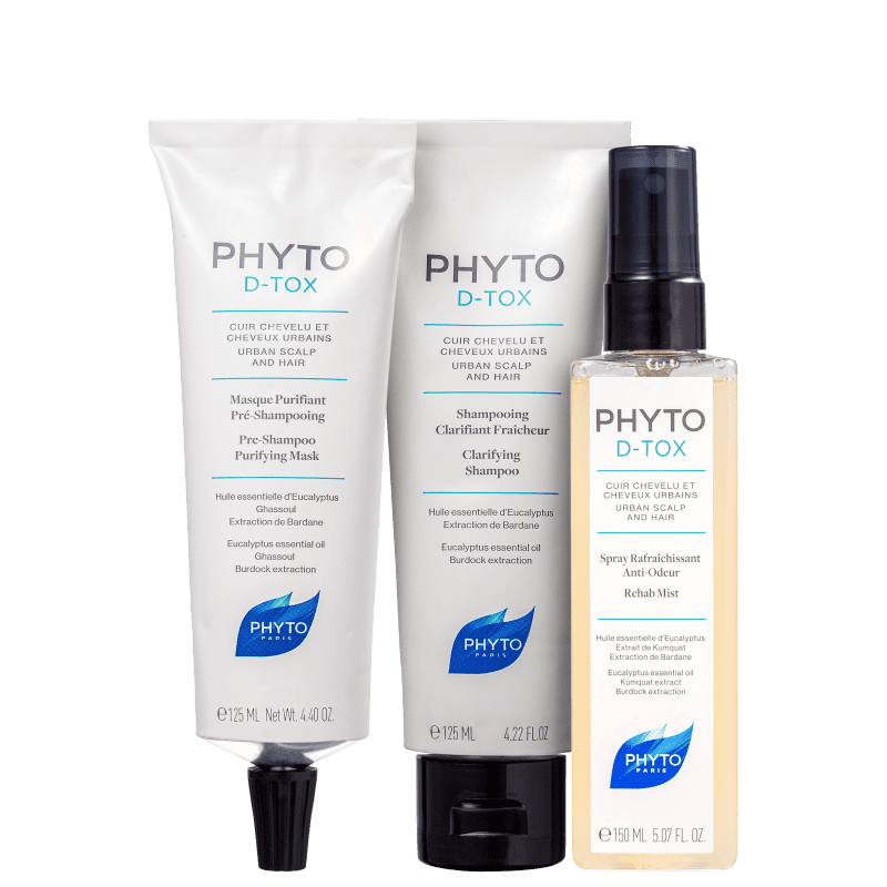 Kit PHYTO Phytodetox Trio (3 Produtos)